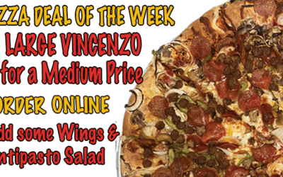 Large Vincenzo's for A Medium Price | #1 Newhall | Vincenzo's Pizza Newhall