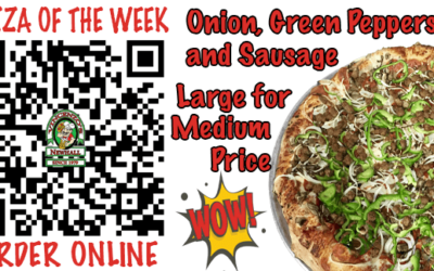 Large Onion, Green Pepper, Sausage *Pizza of The Week | Vincenzo's Newhall